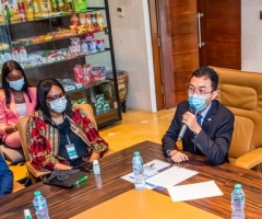 2021 Media Tour to Lekki Port Project Site