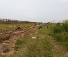 Construction of Walk-way for Community Children