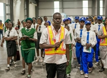 Students tour to TGARLA Manufacturer of Dano Milk in Lagos Free Trade Zone
