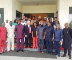 Nigeria's House of Representatives Visit to LPLE's HQ