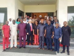 Nigeria's House of Representatives Visit to LPLE's HQ