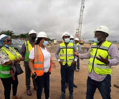 Industrial Monitoring Visit by LASEPA