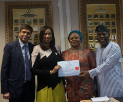 Lekki Port Presents Shares Certificate to Lagos State Government