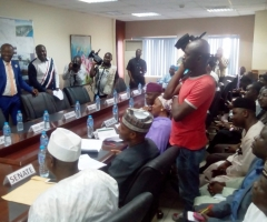Site Visit By Senate Committee on Transport